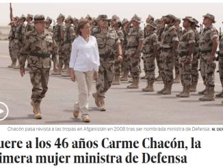 carme chacon
