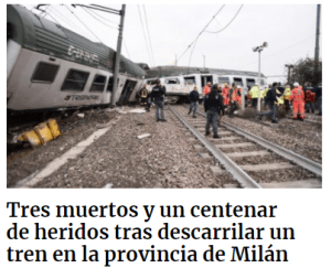 incidenti ferroviario