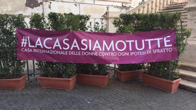 casa donne roma