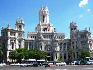 cibeles edificio madrid