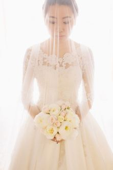 Beautiful Wedding dresses see bridal style photos A-line, Princess, Sheath, Empire , Strapless or Lace Wedding Dresses. We've rounded wedding dresses photos,lace pearl wedding dress with 3/4 sleeve length