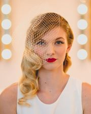 vintage wedding hairstyles chic