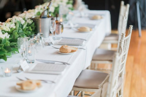 Wedding Tablescape - Beautiful simple + elegant outdoor wedding under the Chateau in the garden | itakeyou.co.uk - garden wedding ,outdoor wedding ,blush wedding