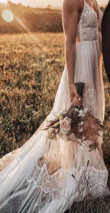 charming wedding dresses, boho wedding dresses, thin strap wedding dresses , wedding gowns, best wedding dresses, casual wedding dresses, bohemian wedding dress