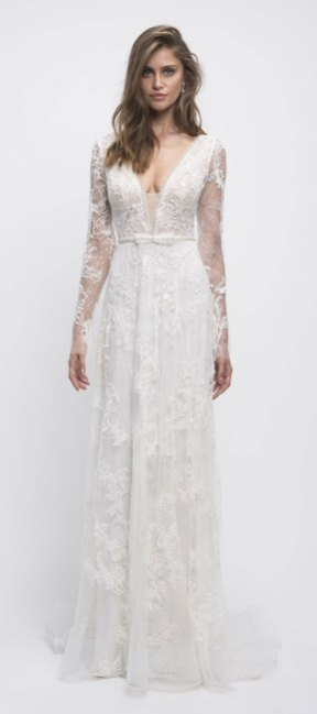 pretty wedding dresses, spring wedding gowns, spring wedding dresses, long sleeve wedding dress , a-line wedding dresses
