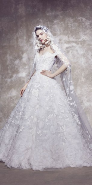 off the shoulder wedding dress, ball gown wedding dress