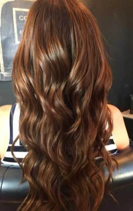 wedding hair color 2019, best wedding hair color, hair colors, brown hair color ideas, brown hair color with highlights, brown hair color, chocolate brown hair color
