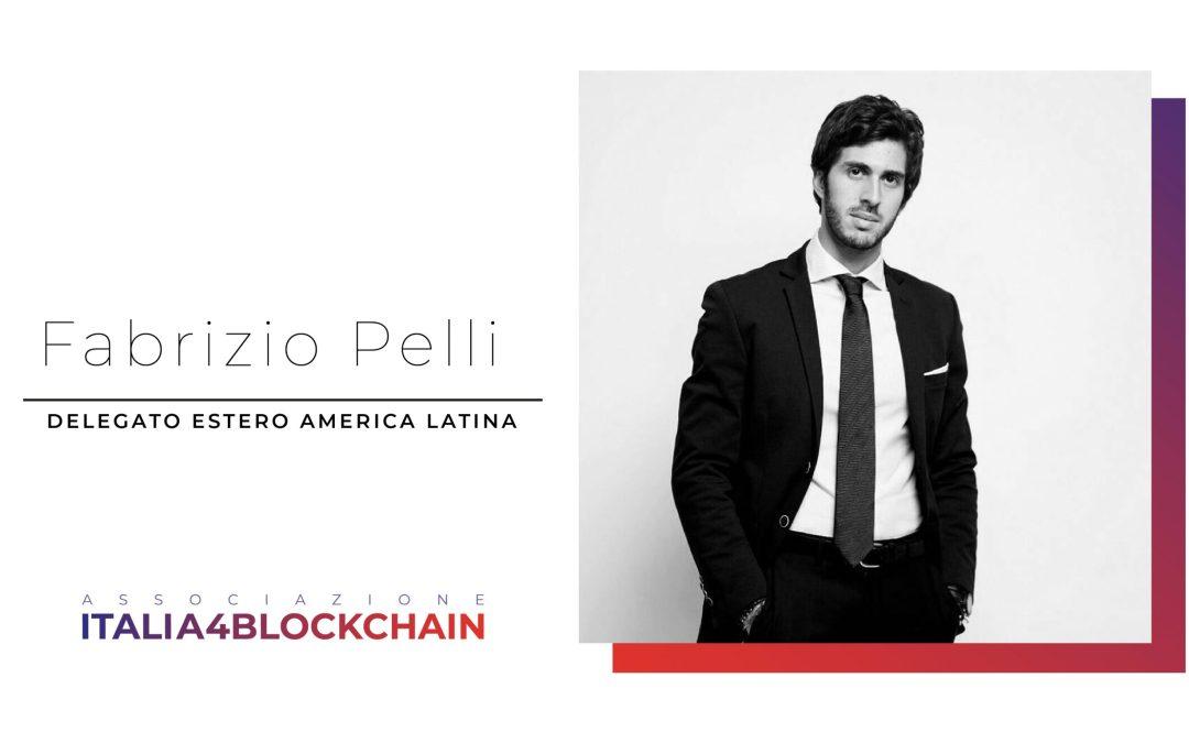 Fabrizio Pelli nominato delegato estero America Latina dell'Associazione Italia4Blockchain