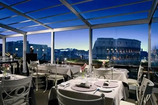 Ristorante Terrazza Roma Hotel Eden