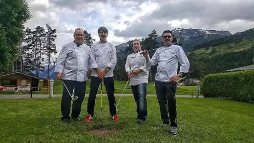 Piero Canclini, Gianni Tarabini, Michele Pedrazzini e Marco Valli