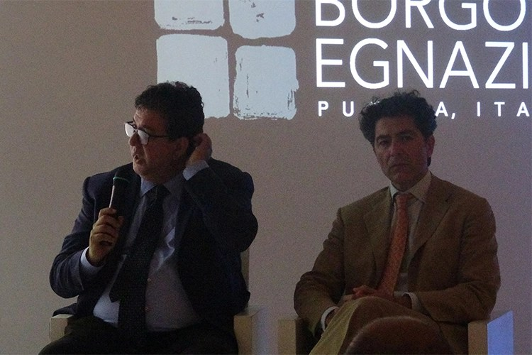 Luciano Pignataro e Stefano Tredici - Euro-Toques, vince l'associazionismo Nuova guida e alta cucina in Puglia