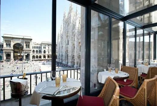 Al ristorante Giacomo Arengario colazione e aperitivo in
