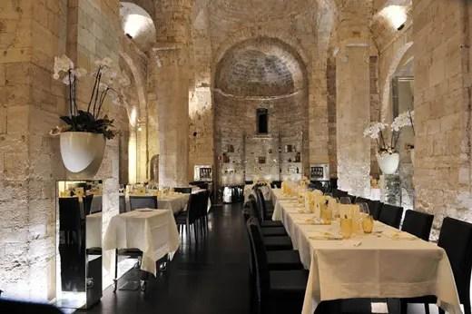 Il gusto vero del mare nellantico Fortino di Trani  Italia a Tavola