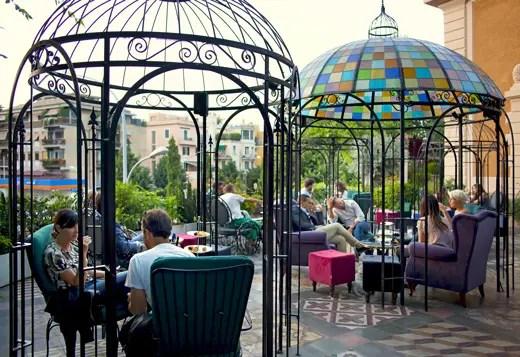 The Corner Townhouse a Roma Ristorante bistrot e lounge garden  Italia a Tavola