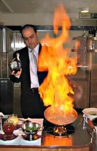 La cucina flamb  SCHEDA  Italia a Tavola