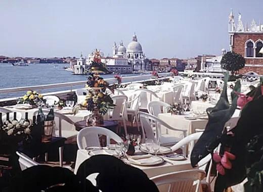 La Terrazza dellHotel Danieli Il lusso di Venezia in