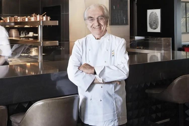 Gualtiero Marchesi - La voglia di fare squadra in cucina tra i valori di Euro-Toques dal 1993