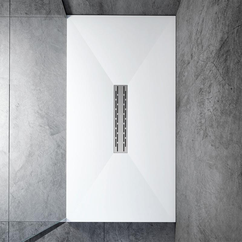 Solid Surface Lux  Piatto Doccia Su Misura da 70 cm Altezza 3 cm