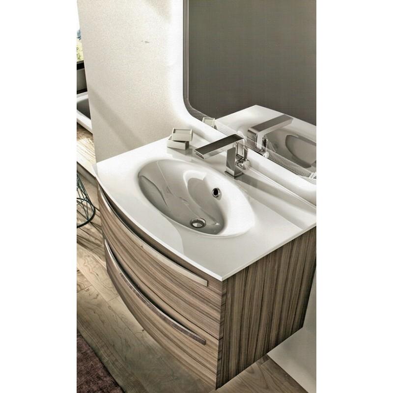 Baden Haus  Mobile da Bagno James Sospeso 75 cm Larice