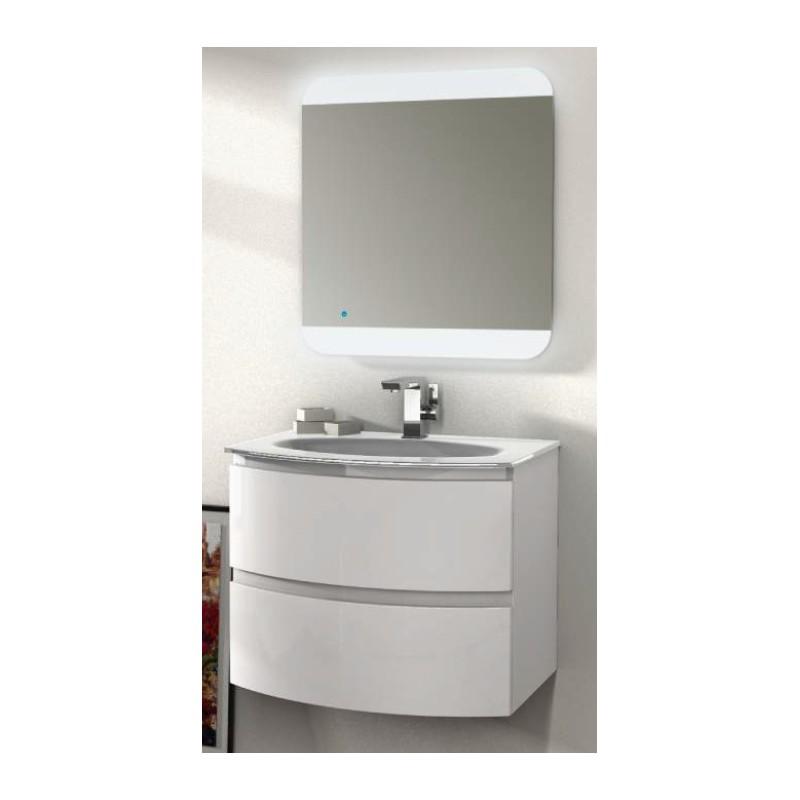 Baden Haus  Mobile da Bagno Sospeso 70 cm Vague Bianco