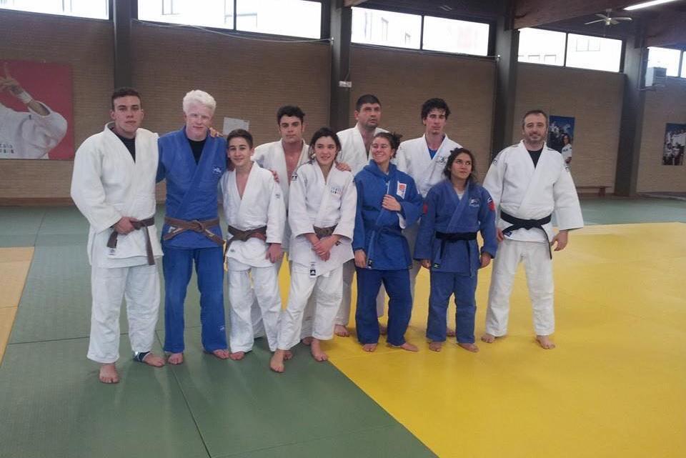 La nazionale paralimpica non vedenti di Judo ad Ostia con la campionessa Elena Moretti