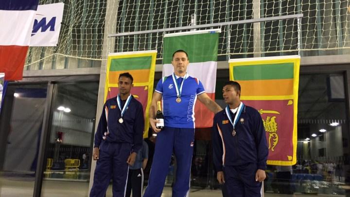 Open Paralimpici Militari di Nuoto: seconda medaglia per l'Italia