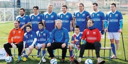 Calcio Amputati, sabato 28 marzo Italia-Irlanda a Vicenza