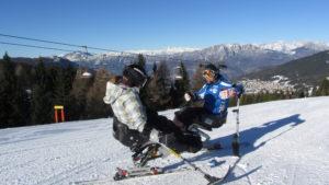 sci disabili 300x169 - Alpe Cimbra (Tn): a Folgaria i Campionati Italiani Disabili FISIP Sci Alpino e Snowboard 2015