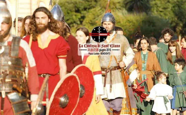 la contesa - Dal 25 al 28 giugno Benevento Longobarda la prima rievocazione storica accessibile a Tutti