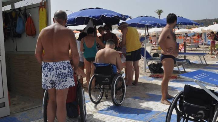 Spiaggia Zero Barriere a San Vito Lo Capo (Tr)