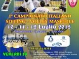 campionato italiano di sitting volley maschile con le rappresentative regionali.