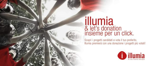 LETS DONATION 1600x700 Illumia 1024x448 - Vota per il Progetto Viaggiare Disabili iniziativa Illumia e Let's donation