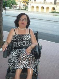 """Mariaclaudia Cantoro italiaccessibile 225x300 - Chiacchierata con Maria Claudia Cantoro prof disabile : """"lo Stato deve rendere il mio lavoro possibile"""""""