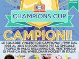 Wheelchair Hockey Torino 31 ottobre- 1 Novembre 2015