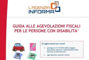 Guida Agevolazioni Fiscali persone con Disabilità