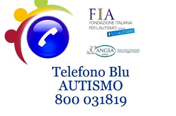 Nasce Telefono Blu per aiutare le famiglie con persone autistiche