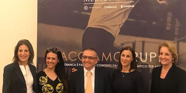Giusy Versace alla Stramilano lancia raccolta fondi di GruppoMediobanca4DisabiliNoLimits