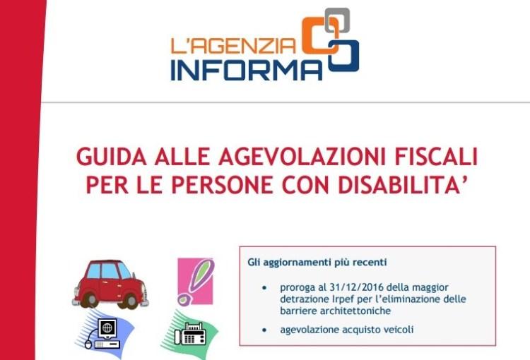 guida disabili agevolazioni fiscali - Guida alle agevolazioni fiscali per le persone con disabilità 2017