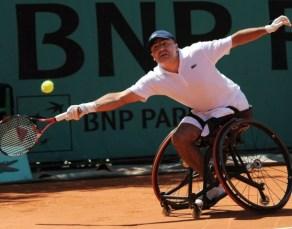 Houdet tennis carrozzina 1 - Tennis in carrozzina: ad Alghero arrivano 24 nazioni