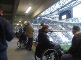 Stadio negato ai disabili