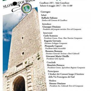 """casalbore convegno 6maggio2017 locandina.jpg 300x300 - Convegno Casalbore (Av), """"Le aree rurali in cammino verso lo sviluppo turistico"""". Partecipa ItaliAccessibile"""