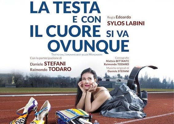 """""""Con la testa e con il cuore si va ovunque"""" Giusy Versace torna in scena al teatro Golden di Roma"""