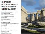 Paestum 3 dicembre 2017 - 3 dicembre 2017 : Giornata Internazionale delle Persone con Disabilità