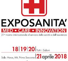exposanità2018 - Exposanità: Dal 18 al 21 aprile a Bologna torna il salone HORUS