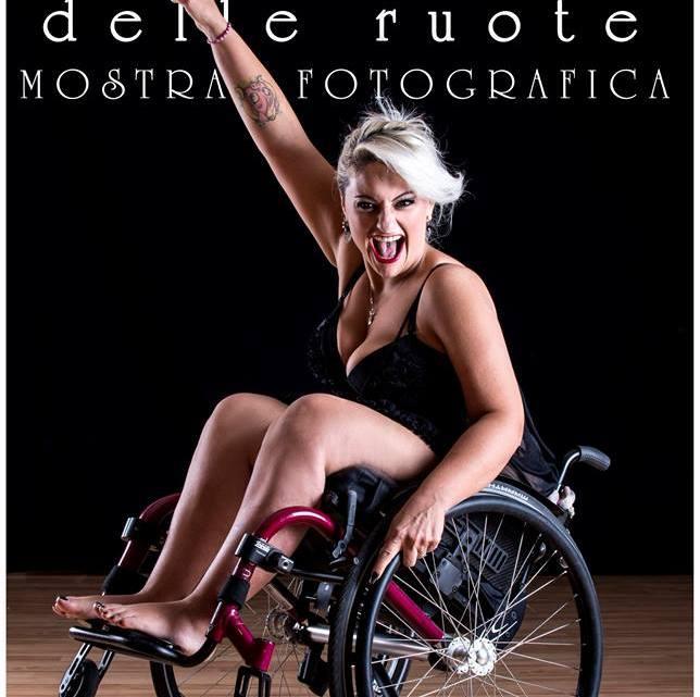 """Roberta Macrì """"Aldilà delle ruote"""": Shooting Fotografico bellezza,disabilitàpossono vivere in armonia"""