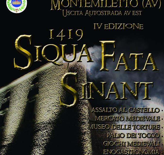 1 e 2 settembre a Montemiletto (Av) la rievocazione storica sarà accessibile a persone con disabilità motoria
