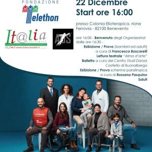 Telethon Benevento - 'Una stoccata per la ricerca' Telethon : il 22 dicembre raccolta fondi a Benevento