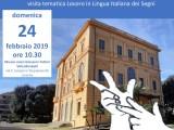 Locandina Museo Fattori in LIS - Italia Travel Awards premia il turismo accessibile : un'esperienza per tutti senza barriere!