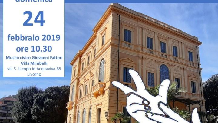 Nel/Col/Dal Museo Fattori di Livorno in LIS