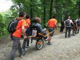 joelette - 46° Sagra de lo Ciammarruchiello a Buonalbergo accessibile a persone con disabilità motoria